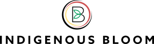 Indigenous Bloom logo for web page